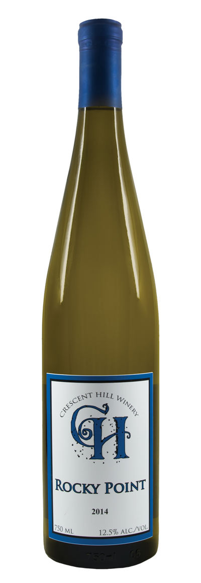 Rocky Point Dry Reisling blend 2014 - Crescent Hill Winery, Penticton BC
