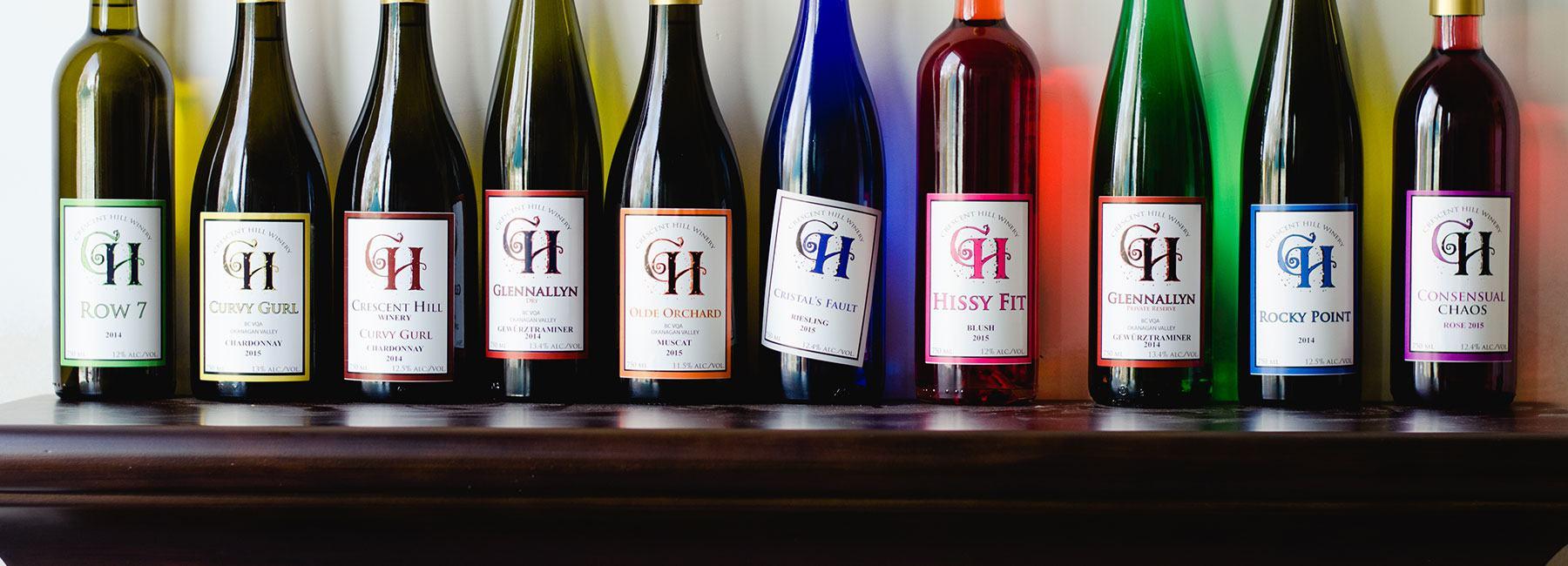 Crescent Hill Winery, Penticton BC
