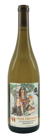 Olde Orchard 2016 Pearl of Csaba Muscat - Crescent Hill Winery