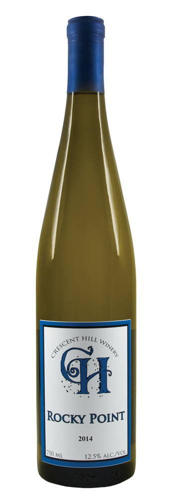 Rocky Point 2014 Dry Riesling - Crescent Hill Winery
