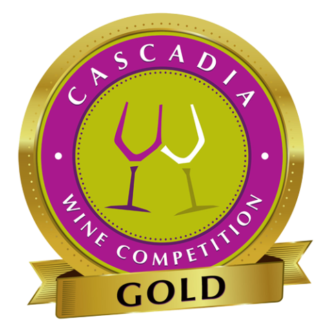 Cascadia Wine Competition Gold Award - Crescent Hill Winery, Penticton, BC