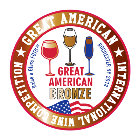 Great American International Wien Competition Bronze - Crescent Hill Winery, Penticton, BC
