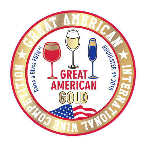Olde Orchard Muscat 2017, Great American Wine Competition GOLD - Crescent Hill Winery, Penticton, BC