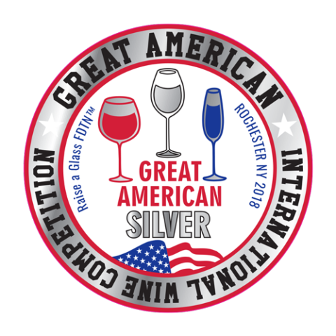 Great American Wine Competition SILVER - Crescent Hill Winery, Penticton, BC