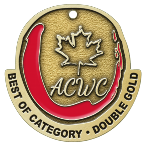 All Canadian Wine Competition Best of Category Award - Crescent Hill Winery, Penticton, BC