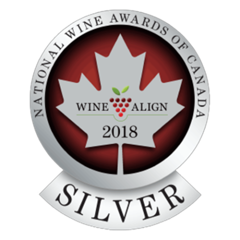 National Wine Awards of Canada: Wine Align 2018 Silver - Crescent Hill Winery, Penticton, BC