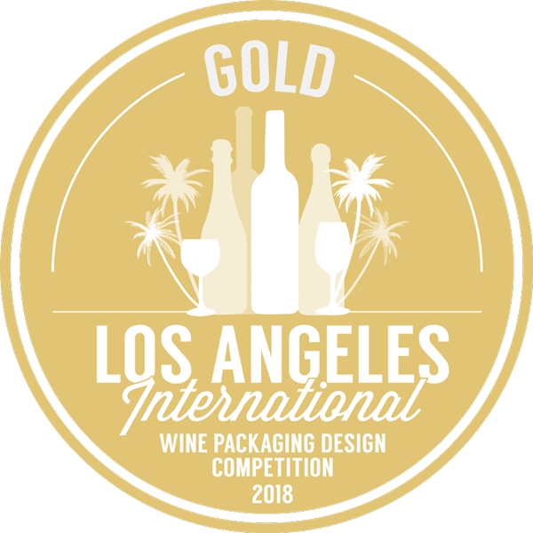 Los Angeles International Wine Packaging Design Competition 2018 Gold Award - Crescent Hill Winery, Penticton, BC
