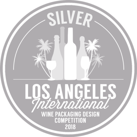 Los Angeles International Wine Packaging Design Competition 2018 Silver Award - Crescent Hill Winery, Penticton, BC