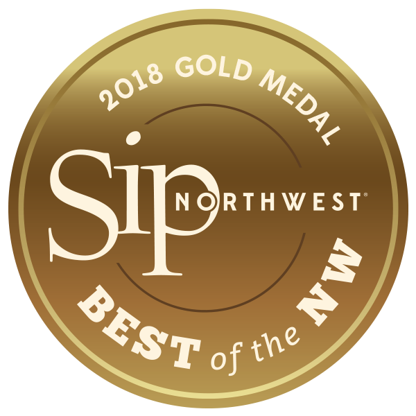 SIP Northwest 2018 Gold - Crescent Hill Winery