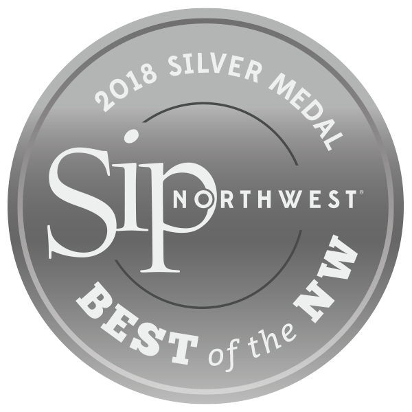 SIP Northwest 2018 Silver - Crescent Hill Winery