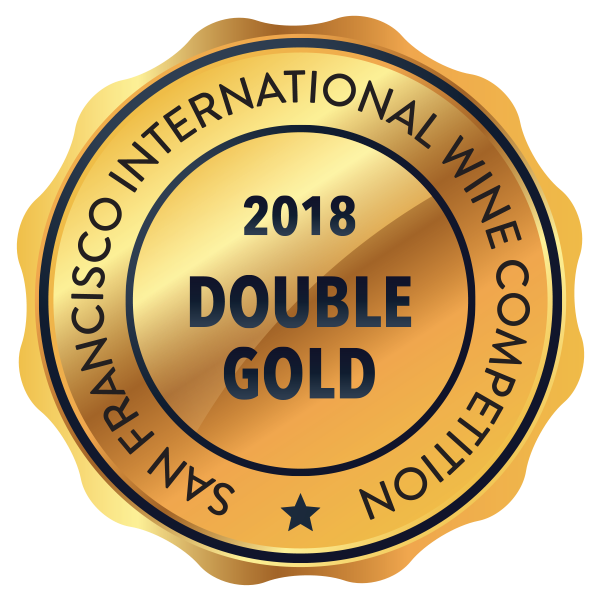 San Francisco International Wine Competition Double Gold - Crescent Hill Winery