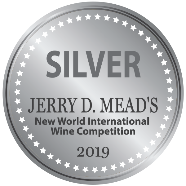 Jerry D Mead's Internation Wine Competition 2019 Silver - Crescent Hill Winery