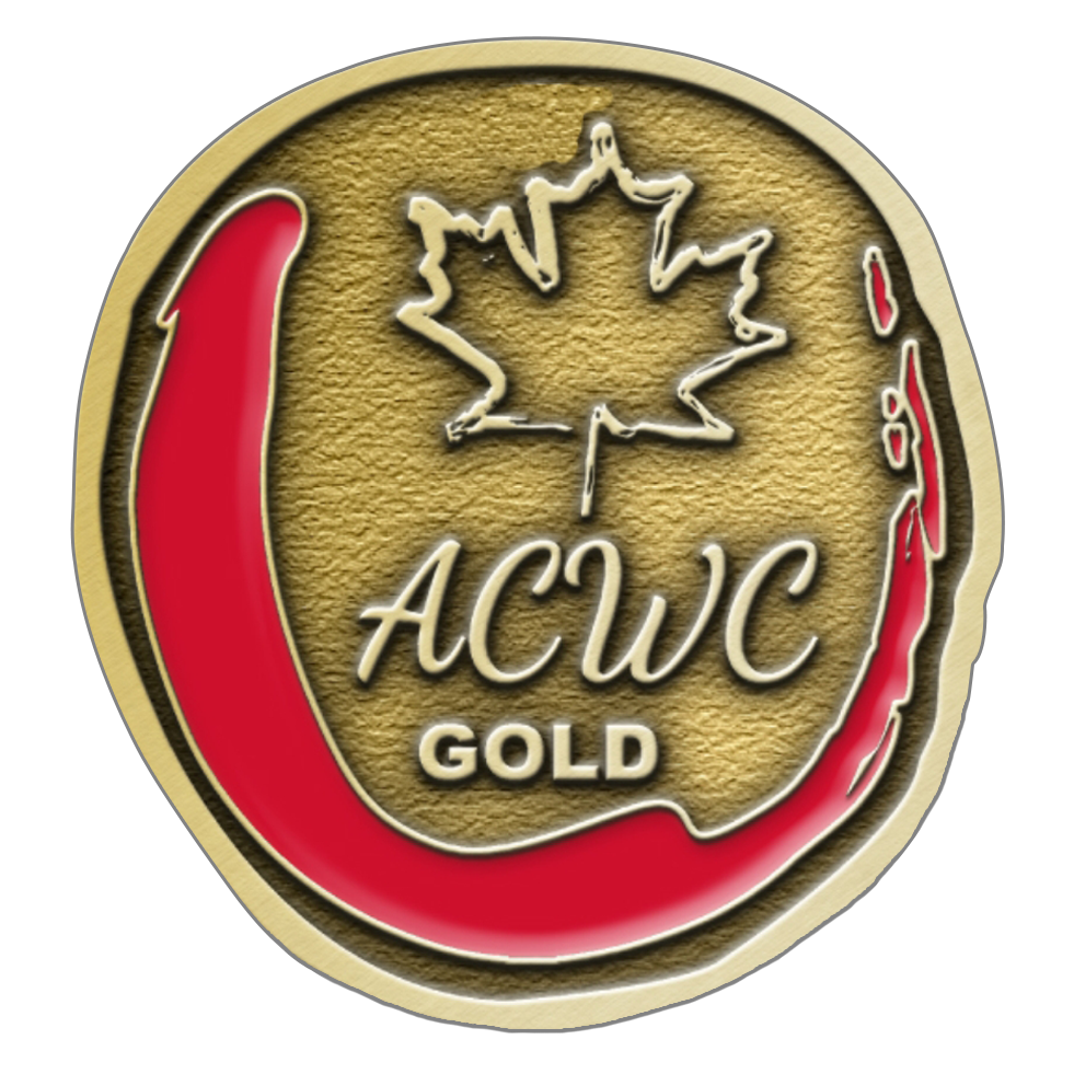 All Canadian Wine Competition GOLD - Crescent Hill Winery, Penticton, BC