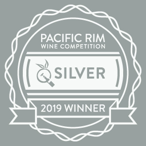 Pacific Rim Wine Competition 2019 Silver - Crescent Hill Winery, Penticton, BC